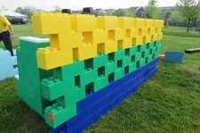 An everblocks wall