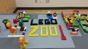 A zoo made of blocks!